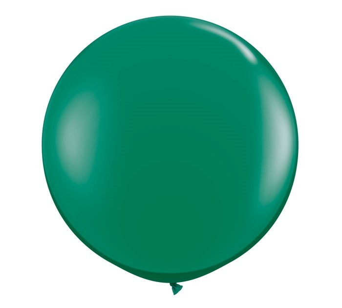 36 Inch Latex Balloon Crystal Emerald Green