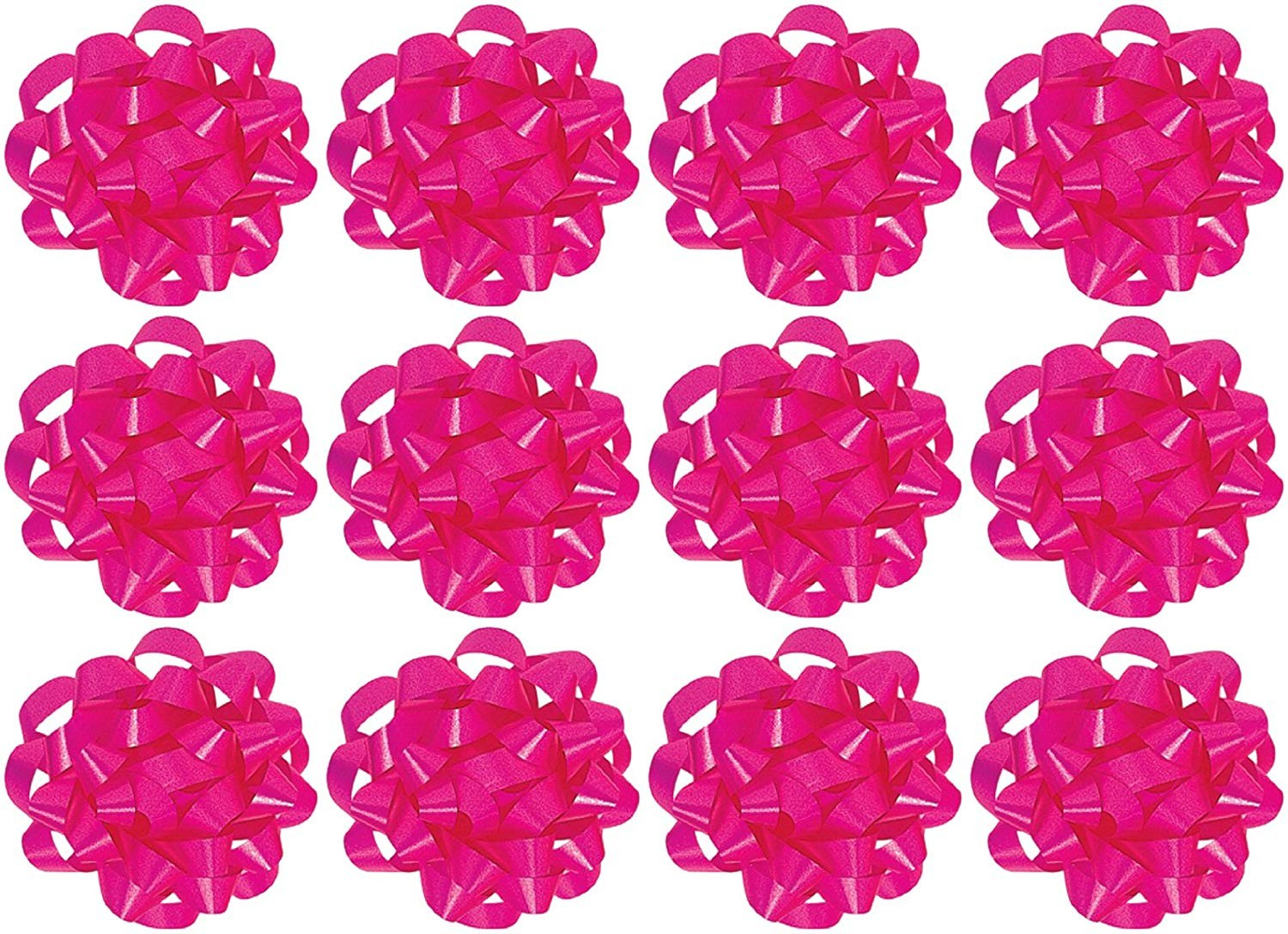 Decorative Confetti Gift Bows (12 Count) (Pkg/1)
