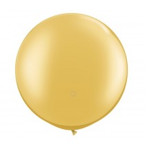 36 Inch Latex Balloon Metallic Gold