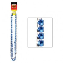 Oktoberfest Mug Beads (Asstd Blue & Silver) Party Accessory (1 Count) (2/card)