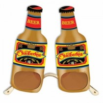 Octoberfest Beer Bottle Glasses