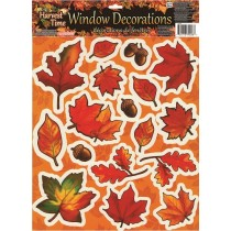 Harvest Time Leaf Window Decorations