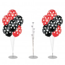 Table Centerpiece Balloon Stand with Polka Dot Balloons Party Kit Decorations (Pkg/1)