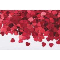 Fanci-Fetti Red Hearts, 1/2 oz (1 Pack) (Pkg/1)