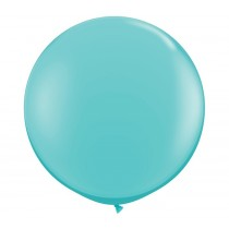 36 Inch Latex Balloon Pastel Turquoise