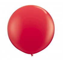 36 Inch Latex Balloon Pastel Red