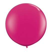 36 Inch Latex Balloon Premium Magenta