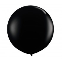 36 Inch Latex Balloon Premium Black