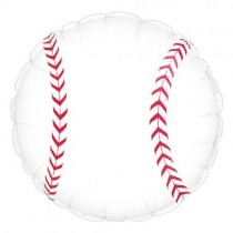 Baseball Balloon (18 inch Mylar)