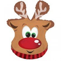 """Reindeer Shape-A-Loon 19""""W x 26.5""""H (1 Count) (Pkg/1)"""