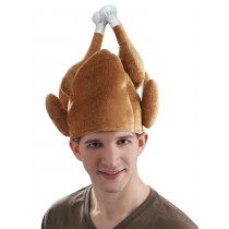Thanksgiving Men's Roasted Turkey Hat (1 Count) (Pkg/1)