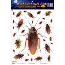 Cockroach Wall & Window Cling Stickers (1 Count) (Pkg/1)