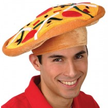 Italian Pizza Hat Party Accessory (1 Count) (Pkg/1)