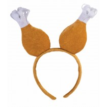 Thanksgiving Turkey Drumstick Boppers/Headband (1 Count) (Pkg/1)