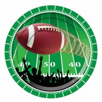 Football Party Plates, 7in. (8 Count) (Pkg/1)