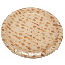 Passover Matzo Patterned Paper Dinner Plates 9""