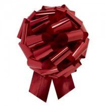 Jumbo Pull Bow 14 Inch Metallic Red (1 Count) (Pkg/1)
