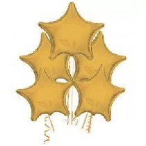 Antique Gold Star Balloon