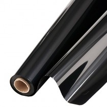 Mylar Reflective Roll 48 Inches Wide Black (1 Count) (Pkg/1)