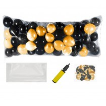 Balloon Drop Kit (Black, Gold)
