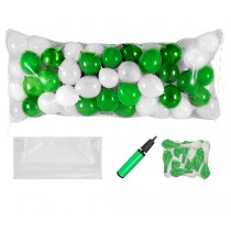 Balloon Drop Kit (Green and White)