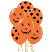 Design - Happy Halloween and Polka Dot Print.