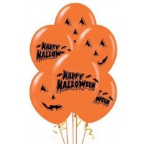 Design: Assorted Happy Halloween and Pumpkin Print.
