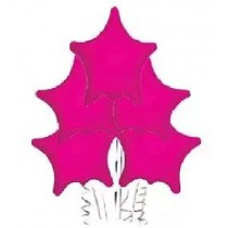 Hot Pink Star Balloon