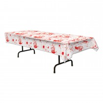 Halloween Bloody Handprints Tablecover
