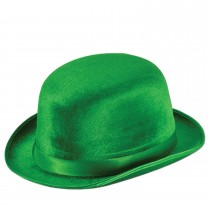 Green Vel-Felt Derby Party Accessory (1 Count) (Pkg/1)