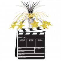 Movie Set Clapboard Centerpiece 15in. (1 Count) (Pkg/1)