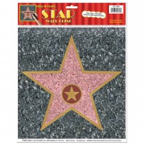 "Awards Night Star Peel 'N Place 12"" x 15"" (1 Sheet) (Pkg/1)"