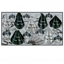 Sparkling Silver New Year's Eve Party Assortment (Pkg/1)
