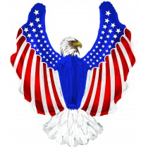 Patriotic Eagle Shape-A-Loon Balloon (Pkg/1)