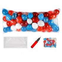 Balloon Drop Kit (Red, White and Blue)