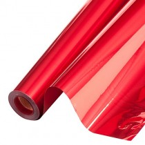 PMU Mylar Reflective Roll 48 Inches Wide Red (1 Count) (Pkg/1)