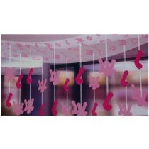Bachelorette Party Collection Penis Ceiling Decoration 60-inch
