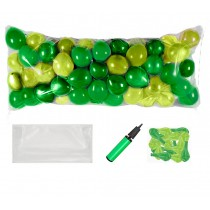 Balloon Drop Kit (Emerald Green and Lime Green)