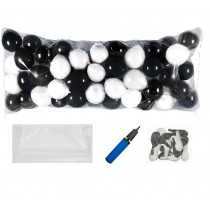Balloon Drop Kit (Black, White)