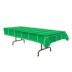 Game Day Football Table Cover 54in. X 108in (1 Count) (Pkg/1)