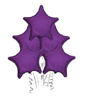 Met Grape Star Balloon
